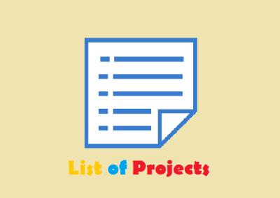 لیست پروژه های کاتد بلانک استنلس استیل ، آند سربی ، باس بار مسی و …